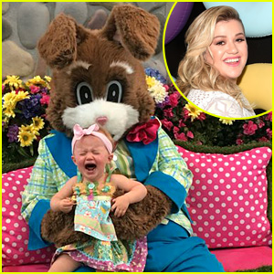 Kelly Clarkson's Daughter River Hated Meeting Easter Bunny!