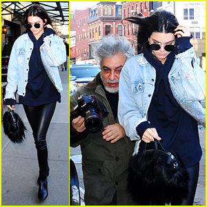 Kendall Jenner Has Literal Run-In With Paparazzi