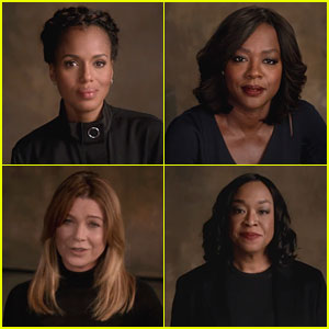 Kerry Washington, Viola Davis, & Ellen Pompeo Endorse Hillary Clinton in New Video!