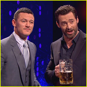 Luke Evans Gives Preview of His 'Gaston' Singing Voice! (Video)