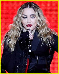Madonna's 'Breast Girl' Attends Another Show in Front Row