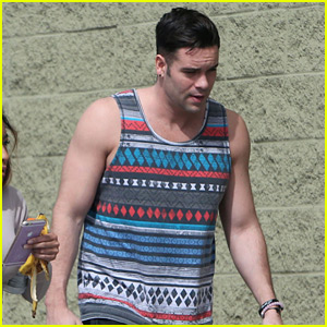 Mark Salling Steps Out After Returning to Social Media
