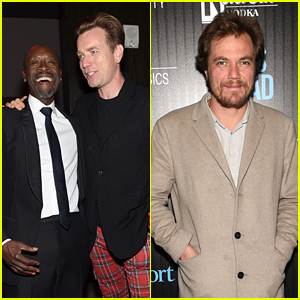 Don Cheadle Joins Ewan McGregor for 'Miles Ahead' Screening