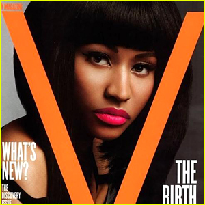 Nicki Minaj Posts Throwback Cover to Celebrate V Magazine's 100th Issue