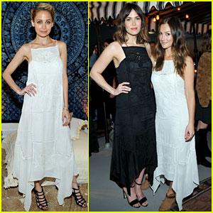 Nicole Richie, Minka Kelly, & Mandy Moore Wear Same Dress to Doen Event!