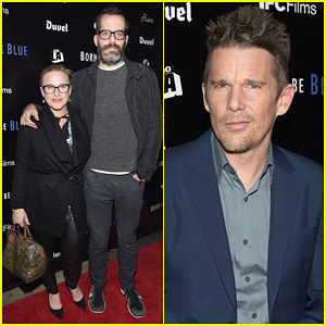 Patricia Arquette Brings Boyfriend Eric White To Ethan Hawke's 'Born To Be Blue' Premiere!