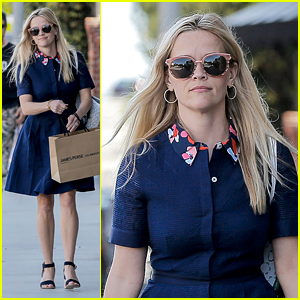 Reese Witherspoon Rocks Huge Flower Crown to Lunch With Gwyneth Paltrow