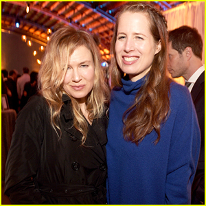 Renee Zellweger Steps Out For Rare Official Appearance at L.A Gala Dinner 2016!