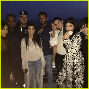 Rob Kardashian Celebrates Birthday at Dinner With His Family