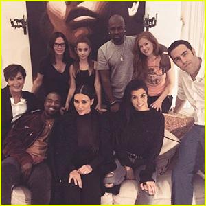 Sacha Baron Cohen Screens 'Grimsby' for Kardashians, Kanye West & More!