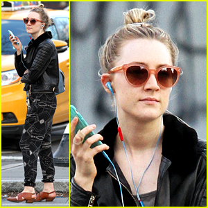 Saoirse Ronan Is Low Key in NYC Ahead of 'Crucible' Opening