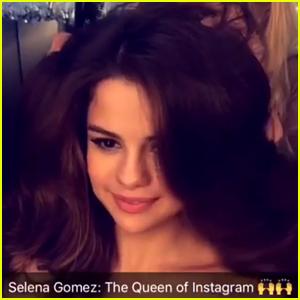 Selena Gomez Responds to Her Status as 'Queen of Instagram'