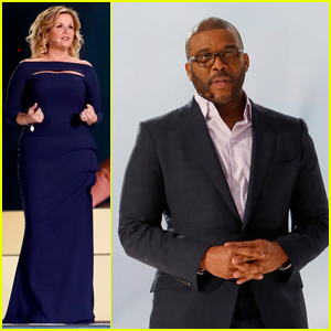 Tyler Perry & Trisha Yearwood Attend 'The Passion' Rehearsals