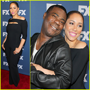 Tracy Morgan & Wife Megan Wollover Are Adorable at 'People V O.J. Simpson' Screening