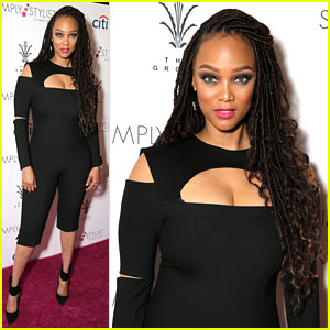 Tyra Banks Makes First Appearance Since Birth of Her Baby!