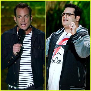 Will Arnett & Josh Gad Are Funny Guys at Kids Choice Awards 2016