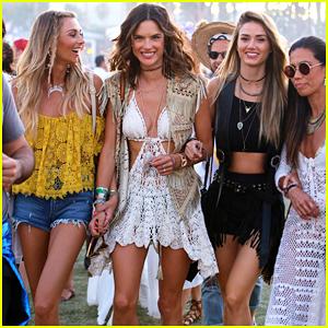 Alessandra Ambrosio & Brazilian Model Squad Have 'Unforgettable Weekend' At Coachella 2016!