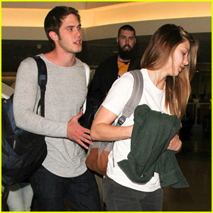 Blake Jenner & Melissa Beniost Return To LA After 'Everybody Wants Some' Promo in NYC