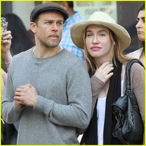 Charlie Hunnam Takes a SoHo Stroll With Morgana McNelis