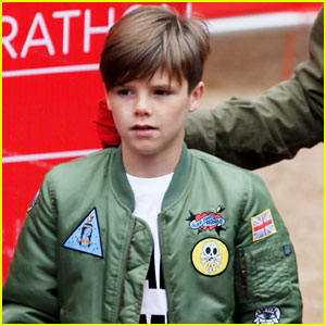 Watch Cruz Beckham Show Off His Adorable Singing Voice!