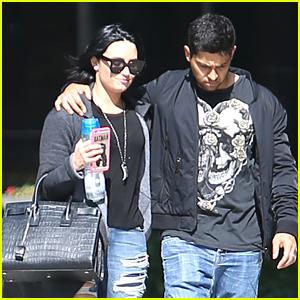 Demi Lovato & Wilmer Valderrama Spend Time Together In Los Angeles