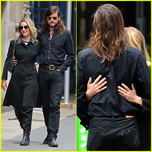 Dianna Agron Strolls With Winston Marshall Ahead of Birthday