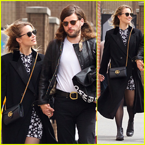 Dianna Agron & Fiance Winston Marshall Hold Hands on Romantic Stroll