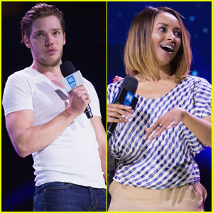Dominic Sherwood & Kat Graham Hit Stage for Seattle We Day