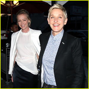 Ellen DeGeneres & Portia de Rossi Enjoy Date Night at Craig's