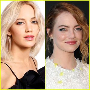 Emma Stone Helped Jennifer Lawrence While She Puked After Adele Concert