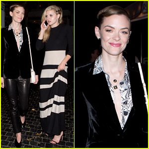 Jaime King Enjoys a Girls Night Out with Ana Mulvoy-Ten