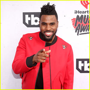 Jason Derulo Arrives to Host iHeartRadio Music Awards 2016