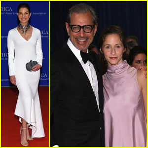 Jeff Goldblum & Sela Ward Rep 'Independence Day: Resurgence' at White House Correspondents' Dinner 2016