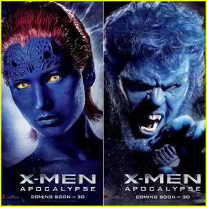 Jennifer Lawrence & Nicholas Hoult Star in New 'X-Men: Apocalypse'Character Posters!