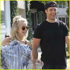 Julianne Hough & Brooks Laich Are Happy to Be Home Together in LA