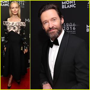 Kate Bosworth & Hugh Jackman Celebrate Montblanc's 110 Year Anniversary!