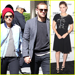 Kate Mara Attends TFF Party After Stepping Out with Jamie Bell