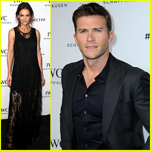 Katie Holmes & Scott Eastwood Kick Off Tribeca at IWC Dinner!