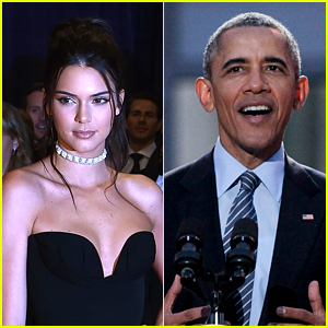 President Obama Asks Kendall Jenner to 'Say Hi to Kim & Kanye' at WHCD 2016