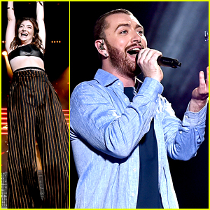 Lorde & Sam Smith Surprise at Disclosure's Coachella Set!