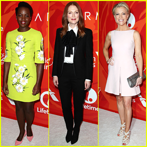 Lupita Nyong'o, Julianne Moore, & Megyn Kelly Honored at Variety's Power of Women Event