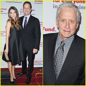 Michael Douglas Gets Highest Honor At Actors Fund Gala 2016!