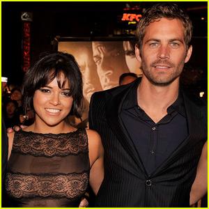 Michelle Rodriguez Is Jealous That Paul Walker Died First