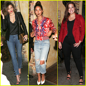 Miranda Kerr, Lily Aldridge & Ashley Graham 'Drop It Like It's Hot' In Denim - Watch Here!