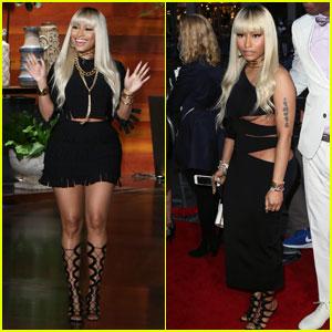Nicki Minaj Denies Meek Mill Engagement on 'Ellen' (Video)