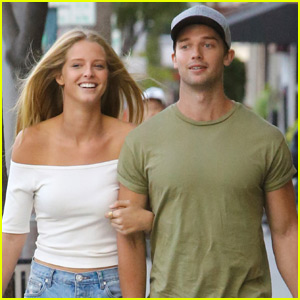 Patrick Schwarzenegger & Girlfriend Abby Champion Take an Afternoon Shopping Trip