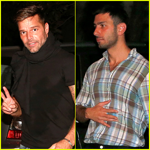 Ricky Martin Steps Out with His Rumored Boyfriend in Brazil!