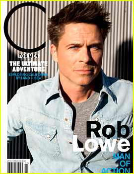 Rob Lowe Admits That He 'Works Out Like a Lunatic'