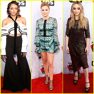 Kat Graham Steps Out For iHeartRadio Music Awards 2016 with Sabrina Carpenter