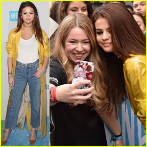 Selena Gomez is Super Fan Friendly at WE Day California 2016